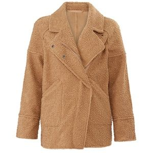 C/MEO Collective World Tour Coat Tan Size Small